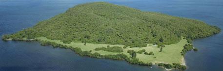 mokoia aerial photo